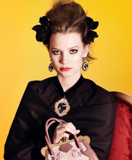 Mia Wasikowska for Miu Miu Spring-Summer 2012 Campaign (7)